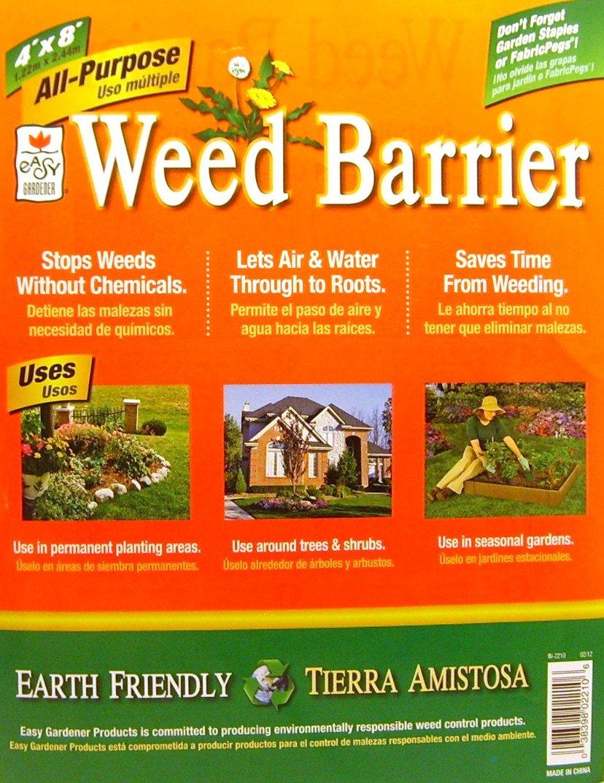 Elegant Amazon.com : All  Purpose Weed Barrier (4u0027x8u0027) : Weed Barrier Fabric :  Garden U0026 Outdoor