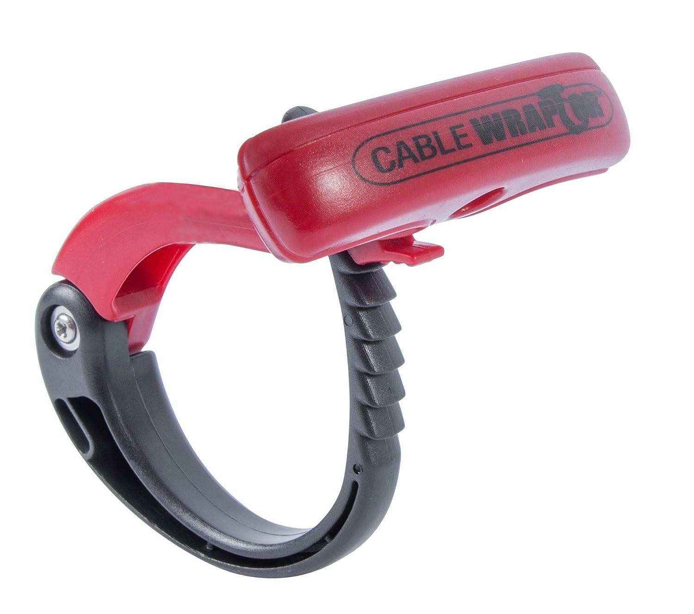 Gardner Bender CW T4RR20 Black Red X Extra Large Cable Wraptor