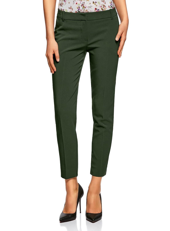 799f997774 durable modeling oodji Collection Mujer Pantalones Básicos con Pinzas · hot  sale Midi Falda para Mujer de Cintura Alta ...