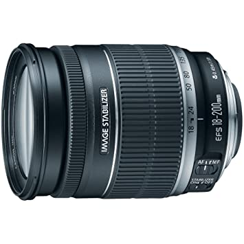Canon EF-S 18-200mm f/3 5-5 6 IS Standard Zoom Lens for Canon DSLR Cameras