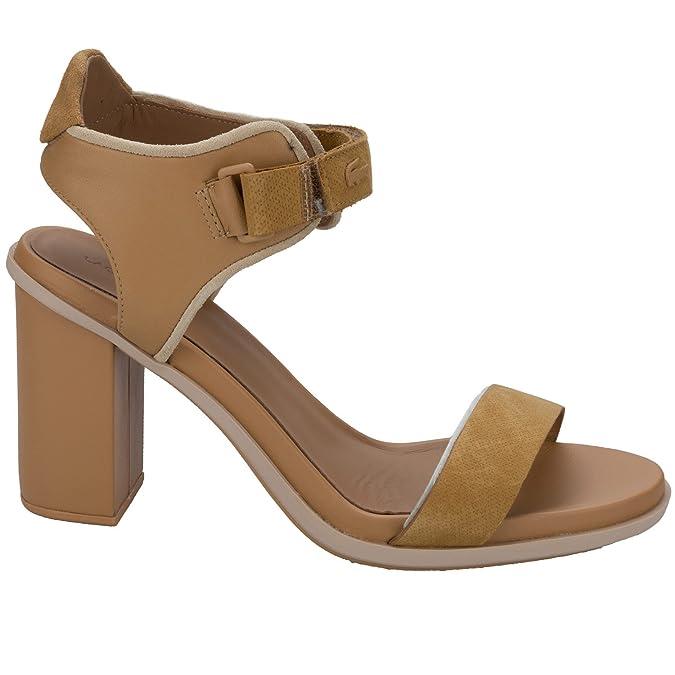 4a128f08d8 Lacoste Sandales Hautes Lonelle Marron Femme: Amazon.fr: Chaussures et Sacs
