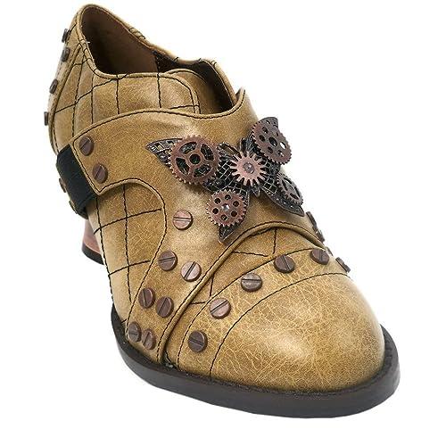 5ff21378e7d Hades Women's Icon Steampunk Oxford Shoe