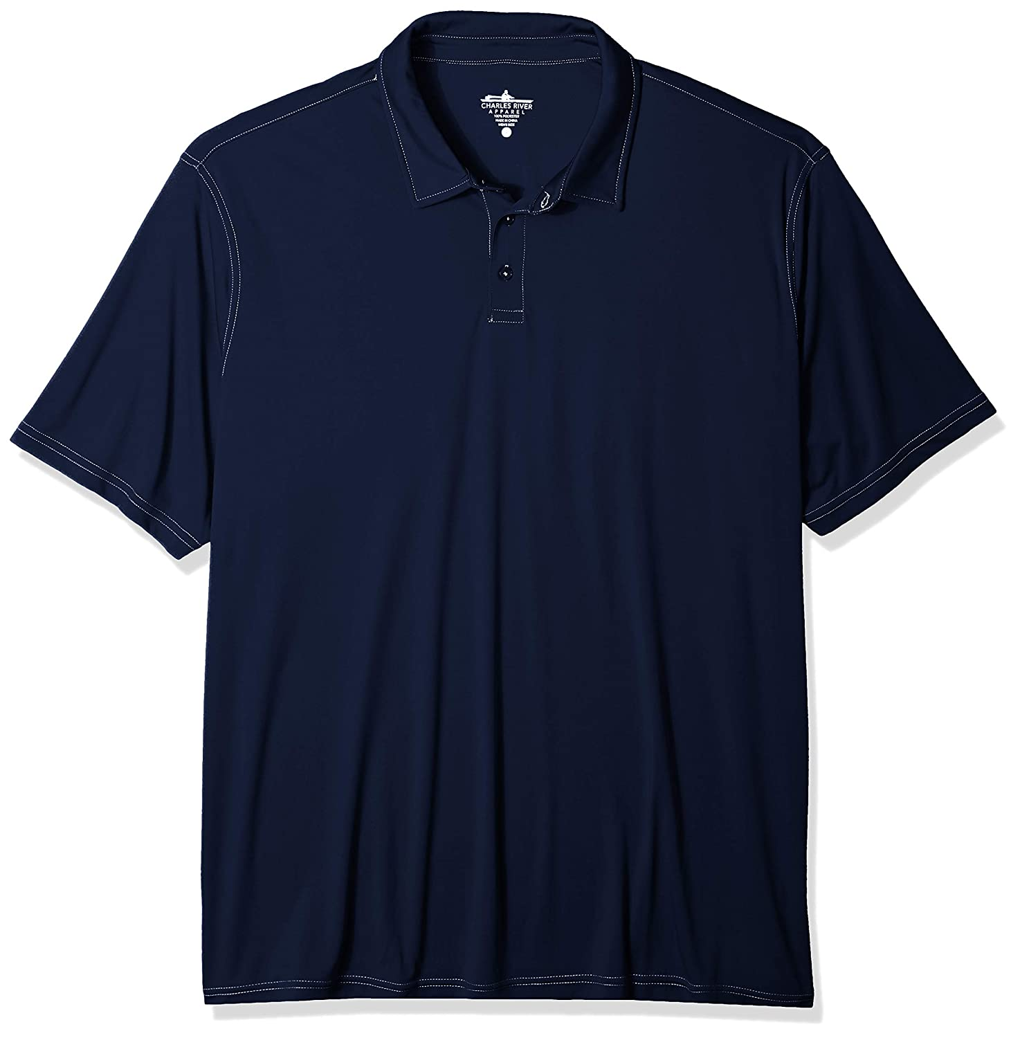Charles River Apparel Mens Wellesley Polo Shirt
