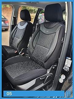 Opel Grandland X Maß Schonbezüge Sitzbezug Auto Sitzbezüge Fahrer/&Beifahrer g102