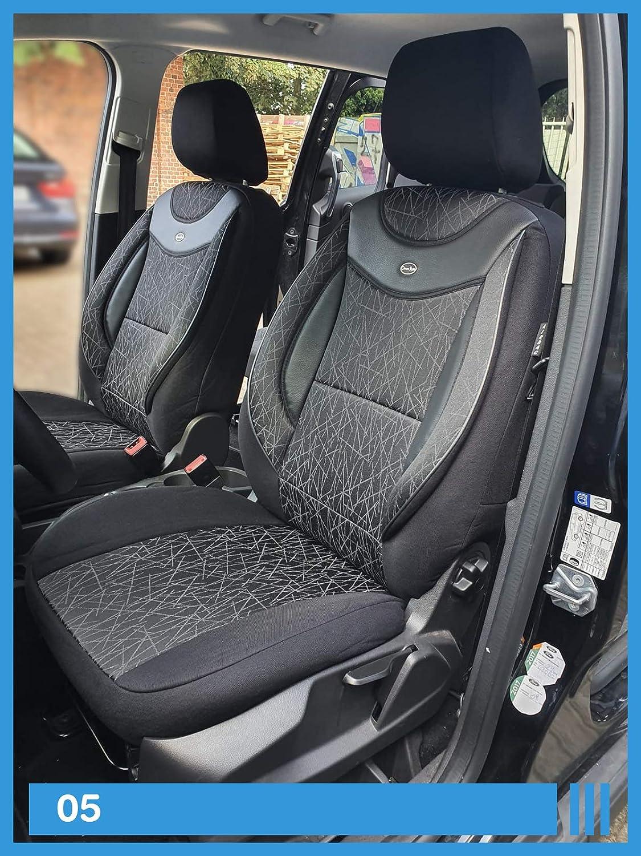Maß Sitzbezüge Kompatibel Mit Mercedes B Klasse W246 Fahrer Beifahrer Ab 2011 2018 Fb 05 Baby
