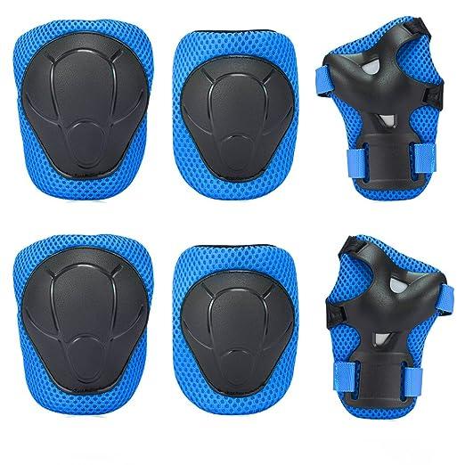 8 opinioni per Bambini Kit protezione- Sport Protective Gear per Ginocchia gomiti Polsiere