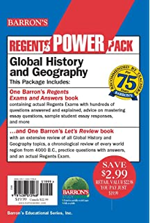 Amazon global history and geography barrons regents exams global history and geography power pack regents power packs publicscrutiny Images