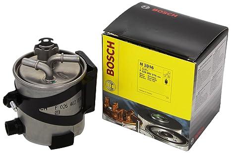 Amazon.com: Bosch – Filtro de combustible para Renault ...