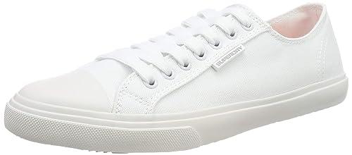 Superdry Herren Low PRO Sneaker Weiß (Optic White 26c), 46