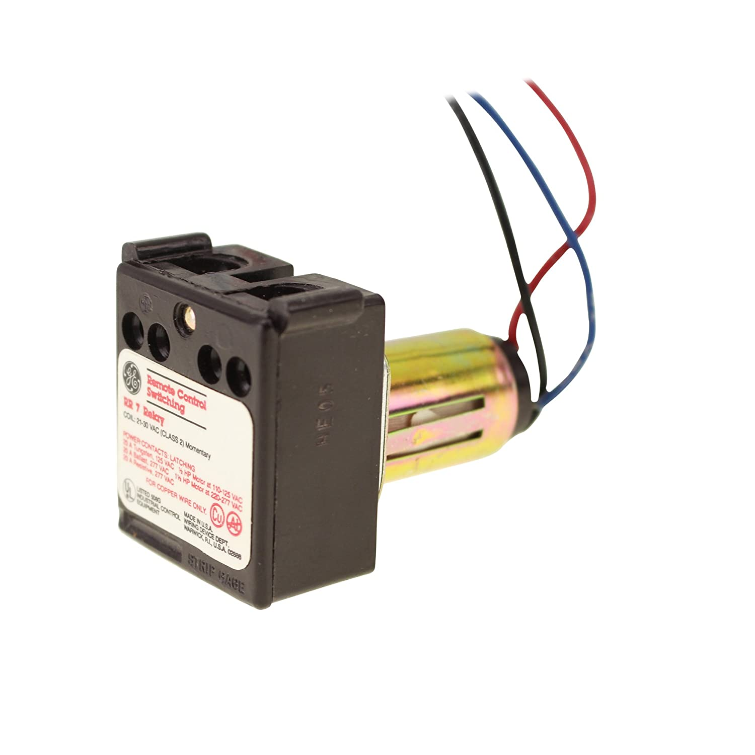 General Electric Ge Rr7 Remote Control 21 30v Ac Relay Rr3 Wiring Diagram Home Improvement