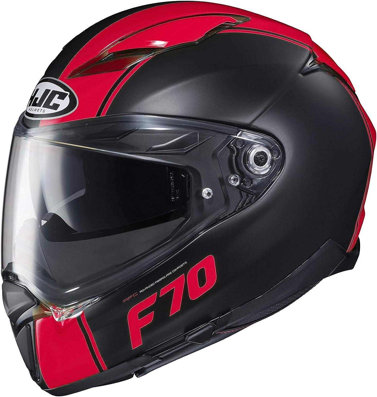 Grigio//Nero Casco moto HJC F70 MAGO MC5SF L