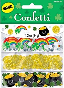 Amscan St. Patrick's Day Value Confetti | 1 pack | Party Decoration