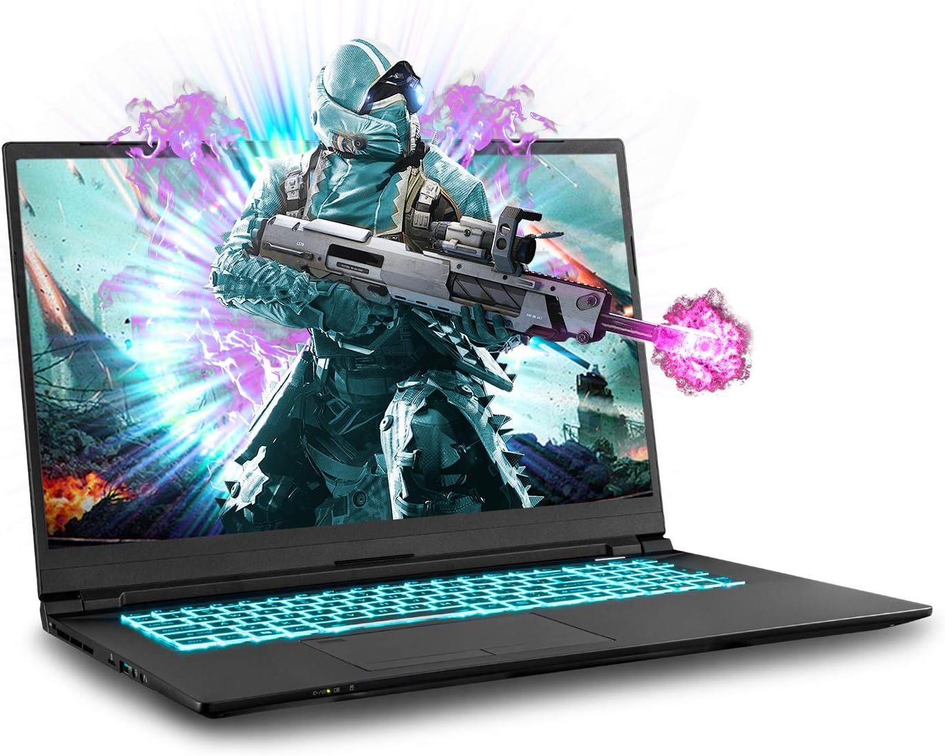 Sager NP8770N2 0.78-Inch Thin, 17.3-Inch FHD 144Hz Gaming Laptop, Intel i7-10875H, RTX 2080 Super, 32GB 3200 RAM, 1TB NVMe SSD, TBT 3, Win 10