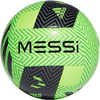 adidas Balón Fútbol MESSI Q3 Talla Única, Color Verde Flúor, Negro ...