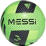 adidas Balón Fútbol MESSI Q3, Color Verde Flúor/Negro