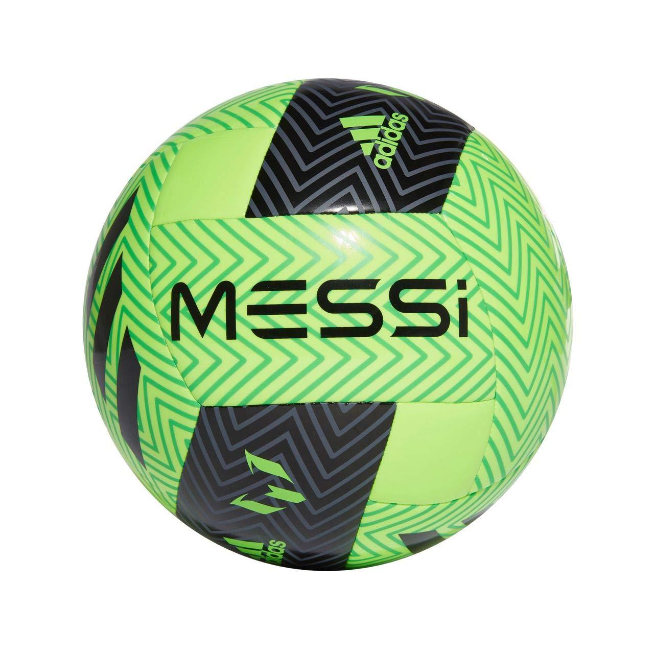 Color Verde Fl/úor//Negro adidas Bal/ón F/útbol MESSI Q3