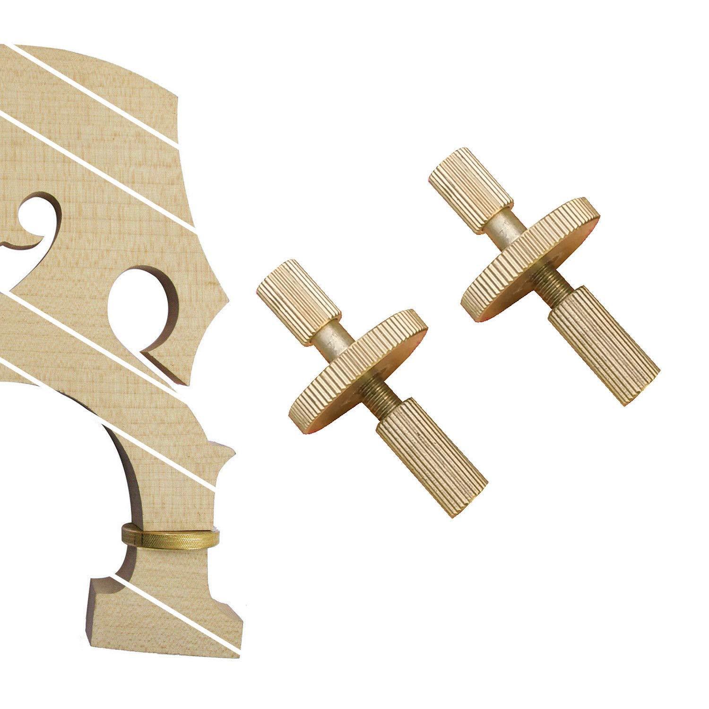 FidgetFidget Bridge Metal Bolt Screws fit Adjustable Upright Double Bass Separate by FidgetFidget