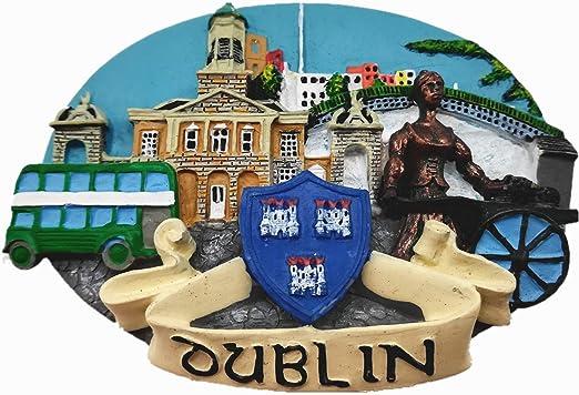 Souvenir Fridge Magnet Dublin Ireland