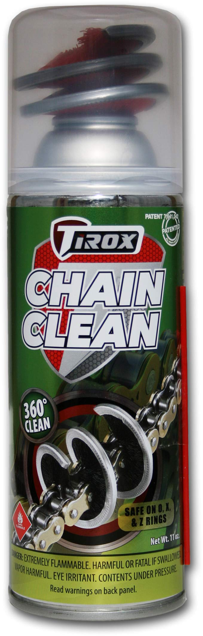 Tirox Chain Cleaner with 360°, Brush 803500 by TIROX