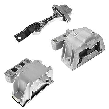 Amazon.com: Engine Motor Manual Transmission Mounts Kit Set of 3 for 99-05 Beetle Golf Jetta: Automotive