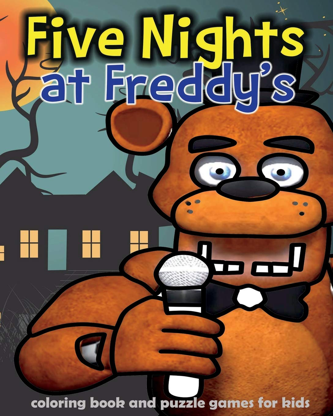 Five Nights at Freddy\'s: coloring book and puzzle games for kids ...