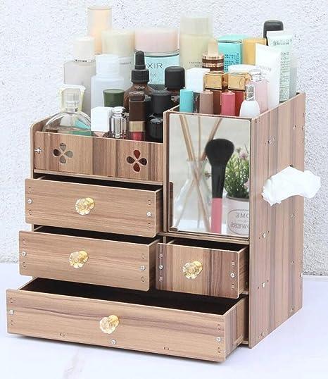 Cajas de almacenamiento Caja de almacenamiento de cosméticos Caja de almacenamiento de escritorio Caja de muebles