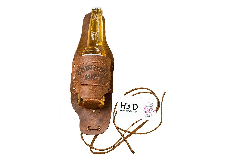 Amazon.com: Hide & Drink Cowboy Buzy - Funda para cerveza ...