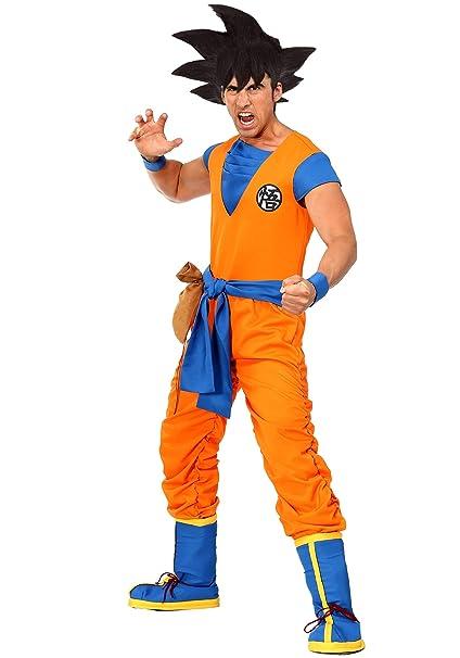 Amazon.com: Dragon Ball Z - Disfraz auténtico de Goku para ...