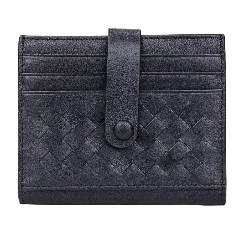 Porta Carte di Credito e Tasche Pelle - CashNox RFID/NFC Blocco Portafoglio Bifold Magico ID Clip CNF7