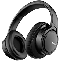 Bluetooth Headphones Mpow H7 Wireless Headphones, Dual 40mm Driver Stereo Wireless Over-Ear Headset with Microphone, Memory-protein Ear Cushions,Wireless and Wired Mode Bluetooth Headset