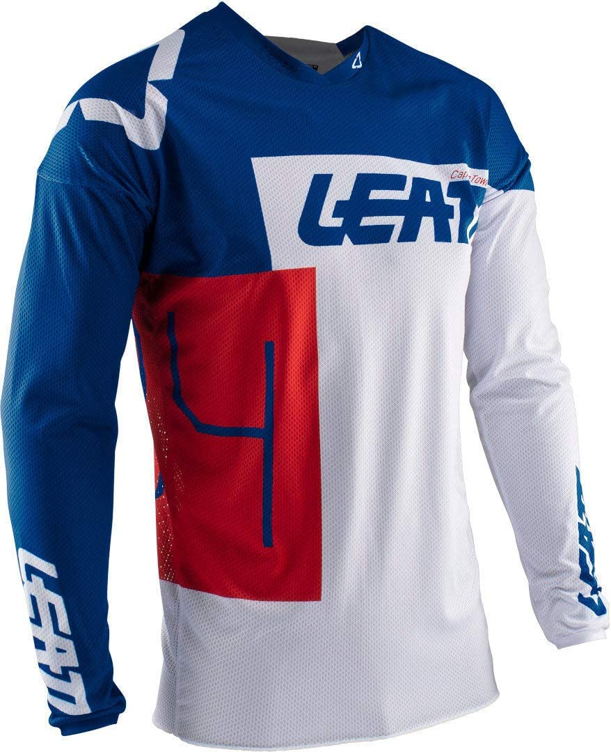 Leatt Jersey GPX 4.5 Lite Schwarz//Grau