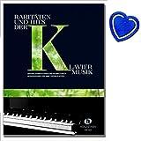 Raritäten und Hits der Klaviermusik inkl. herzförmiger Notenklammer, 74 Klavierstücke von Bach bis Yann Tiersen (Musiknoten)
