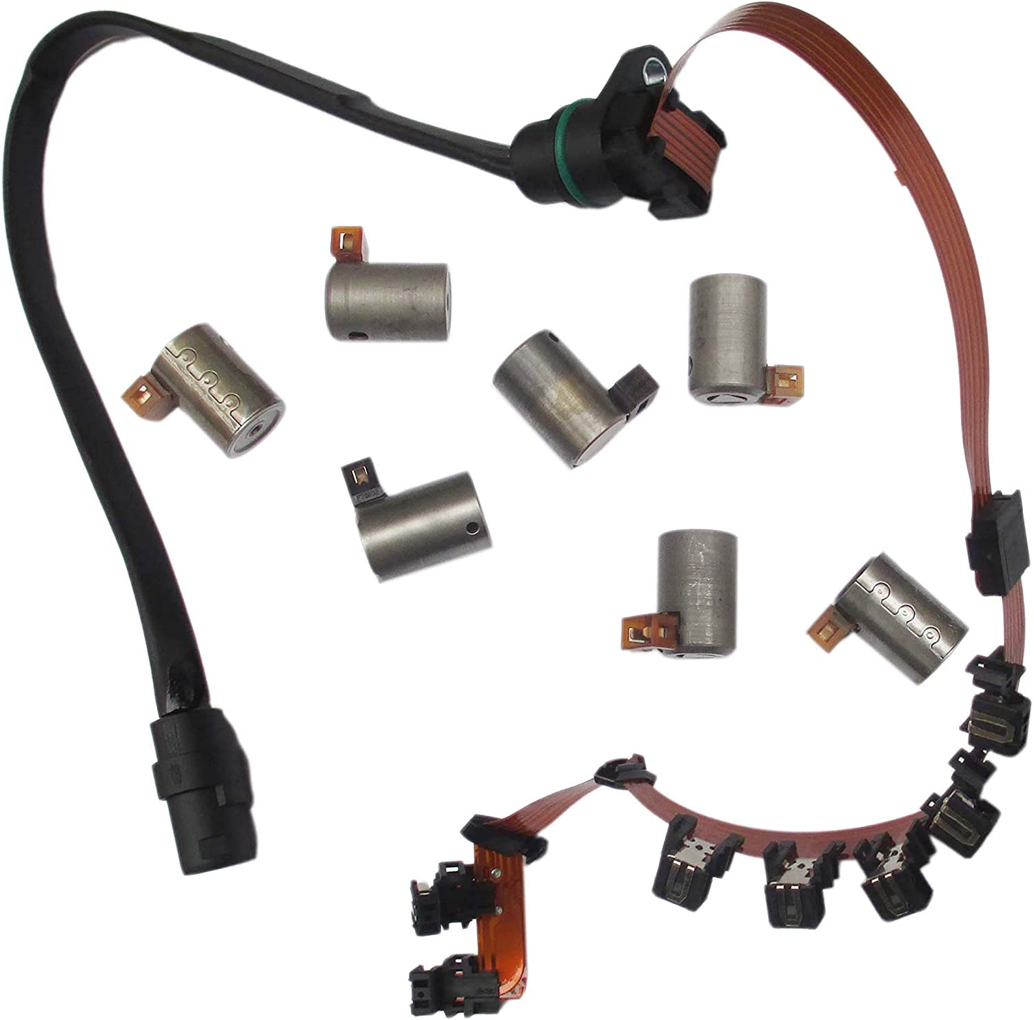 7x Transmission Master Solenoid Kit Wire FOR Harness VW JETTA 95-04 01M O1M