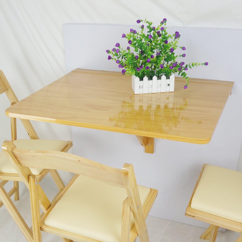 75/x 60/cm Couleur Naturelle LiRen-Shop Jinqi Sagittarius Table Simples et de Pliage