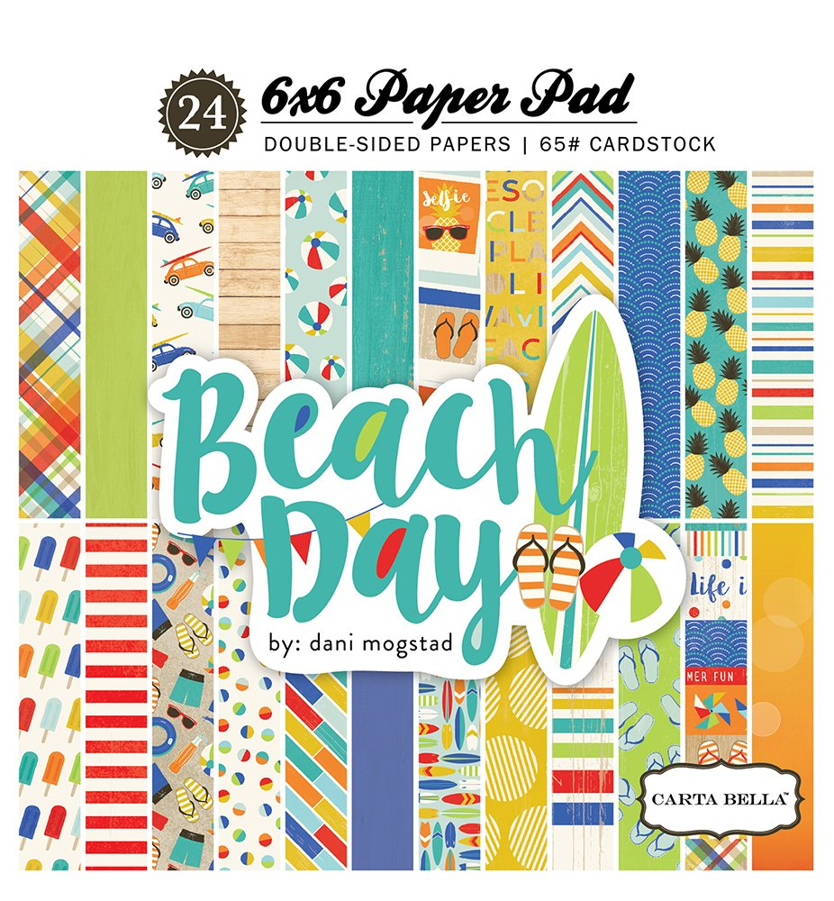 Carta Bella Paper Company Beach Day Collection Kit