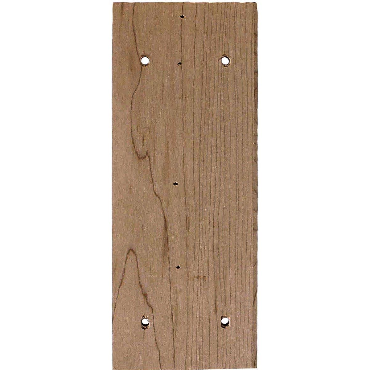2-Pack , Red Oak Ekena Millwork BKT03X05X07HARO-CASE-2 3W x 5D x 7H Hamilton Traditional Bracket