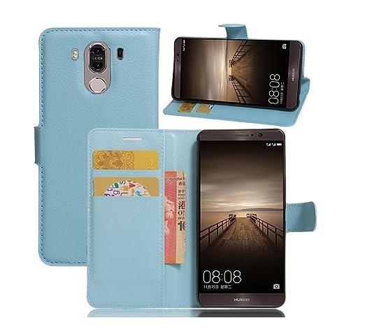 4 opinioni per ELTD Huawei Mate 9 5.9 Flip Cover, Super Slim Perfect Fit Premium Hard