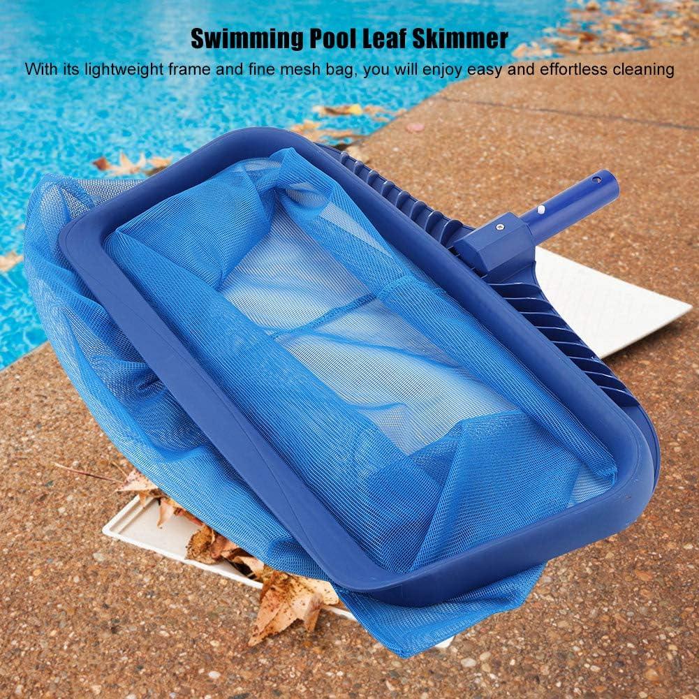 Garosa Pool Skimmers Pool Nets Lightweight Duty Rake Modern Leaf Scoop Easy Glide Low Drag Skimmer Scoop Deep Bag Fine Mesh Netting for Smaller Particles Fast Scoop