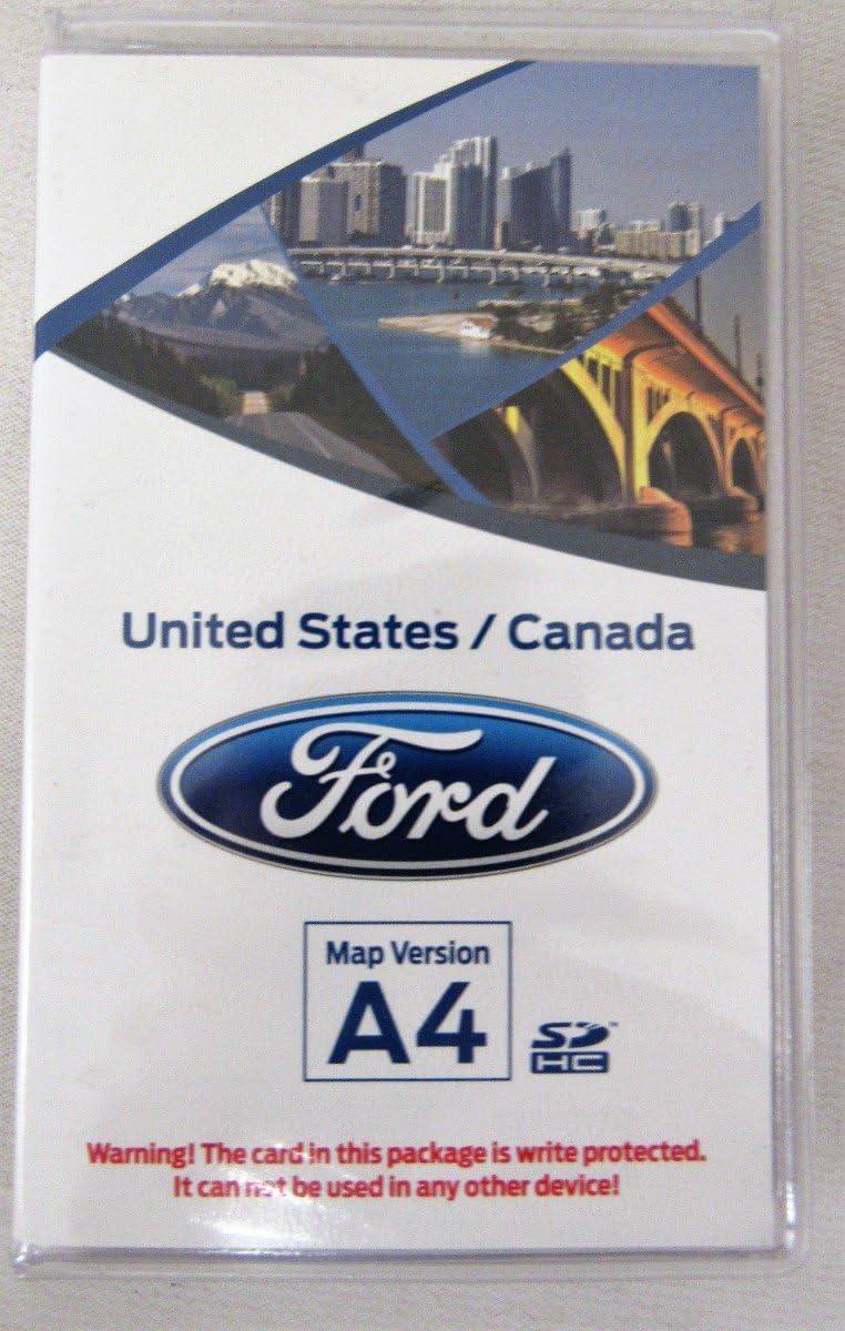 2013 2014 Ford Escape Flex Fusion Taurus F150 Navigation SD CARD Map A4 Update
