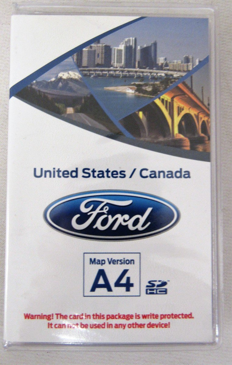 Ford Sync Navigation SD Card Map Version A4 DM5T-19H449-AA