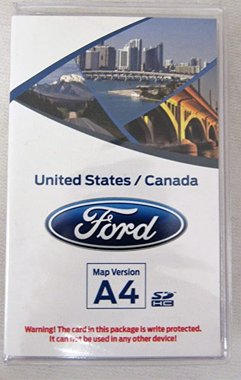 amazon com: ford sync navigation sd card map version a4 dm5t-19h449-aa: gps  & navigation