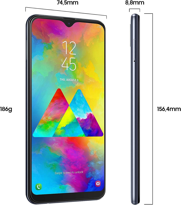 Samsung Galaxy M20 Smartphone, memoria interna de 64GB, 4GB de RAM ...