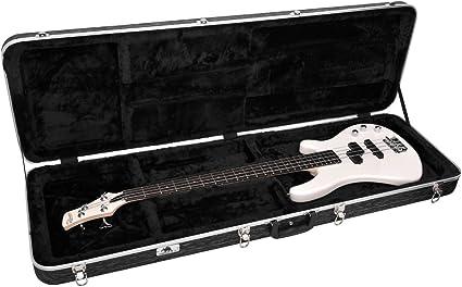 ArmourDillo - Estuche duro moldeado para bajos completos para viajar, plástico ABS: Amazon.es: Instrumentos musicales