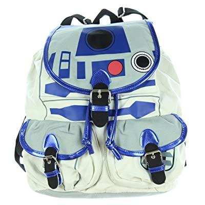 Star Wars R2D2 Knapsack Backpack 14 x 17in | Kids' Backpacks