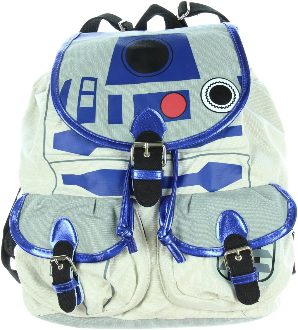 Star Wars R2D2 Knapsack Backpack 14 x 17in