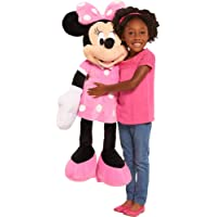 Disney Exclusive Imported Baby Soft Toys Minnie Mouse Pink (Size 4 Foot Tall)
