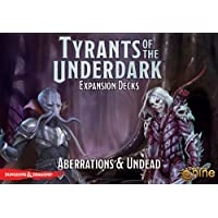 Gale Force Nine Current Edition D&D Tyrants of The Underdark Expansion Aberrations and Undead Rp $21 Board Game