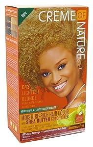 Creme Of Nature Color C43 Lightest Blonde Kit (2 Pack)