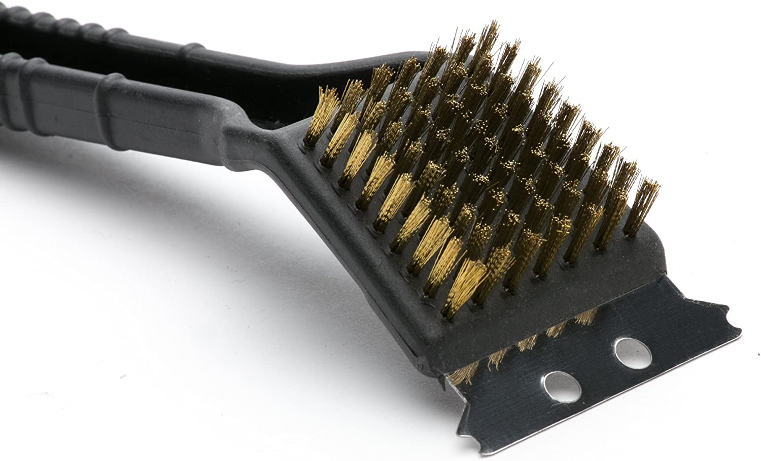 Outset QP47 Short Plastic Grill Brush with Scraper