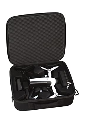 Parrot PF070232 Funda de dron con cámara Maletín Negro EVA ...